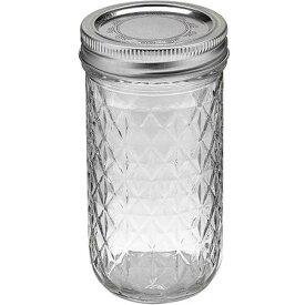 【本日だけ11%オフクーポン】ボール メイソンジャー レギュラーマウス 保存容器 ガラス ゼリー ジャー Ball Mason Jar 12oz 350ml Made In USA