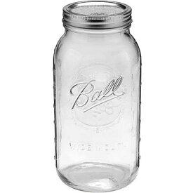 5%オフクーポン発行中 ボール メイソンジャー レギュラーマウス 保存容器 ガラス 大型 32oz 960ml クリアーガラス 人気 輸入 キッチン 雑貨 おうち ステイホーム
