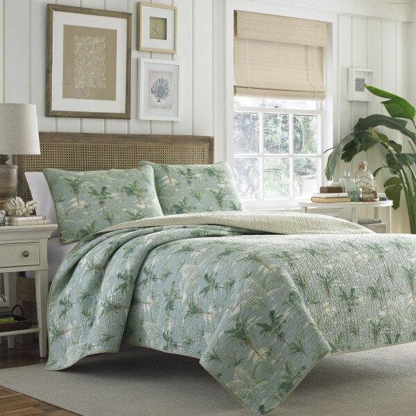 トミーバハマ ベッドキルト3点セット クイーン 寝具 ベッドカバー マルチカバー キルト ベッドカバー ピローケース