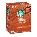 Keurig キューリグ Kカップ スターバックス ブレックファースト 22個入 Starbucks Breakfast Blend Coffee K-Cup Pod