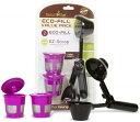 再利用可能なKカップポッドフィルターとコーヒースクープ バリューパック ECO-Fill K-Cup Pod Filters and Coffee Scoop