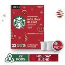 【11%オフクーポン発行中】スターバックス Keurig キューリグ Kカップ ホリデイブレンド 22個入Starbucks Holiday Blend Medium Roast …