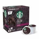 【夏休み限定クーポン5%オフ】Keurig キューリグ Kカップ スターバックス イタリアンロースト 16個入 Keurig K-Cup Pod Starbucks Ita…