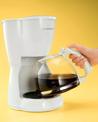 ハミルトンビーチコーヒーメーカー12カップホワイト