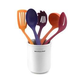 20%オフクーポン+キャッシュレス5%還元 人気 キッチンツール KitchenAid キッチンエイド セラミック容器とキッチンツール5点のセット