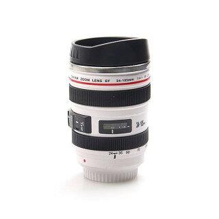 カメラレンズ型保温ステンレスマグカップタンブラー