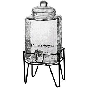 【全商品5%OFFクーポン!】Style Setter ハンブルグ スタンド付 ガラス製ウオーターディスペンサー 3.8L ウオーターサーバー ドリンクサーバー ガラスサーバーHamburg Beverage Dispenser on Stand 1.5 ガロ