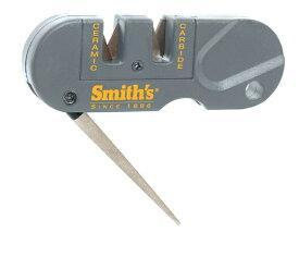 アウトドア 携帯 ポケット ナイフシャープナー 包丁研ぎ器 人気の包丁研ぎ器 Smith's PP1 Pocket Pal Multifunction Sharpener Grey