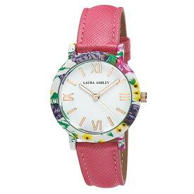 出血!5の付く日クーポン発行中 レディースウオッチ ローラアシュレイ 腕時計 ピンクバンド プレゼント Womens Laura Ashley? Color Stitch Watch - LA3100PK