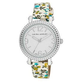 出血!5の付く日クーポン発行中 レディース アナログ ウオッチ ローラアシュレイ 腕時計 花柄バンド ブルー プレゼント Laura Ashley Women's LA31005BL Analog Display Japanese Quartz Blue Watch