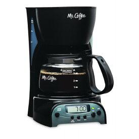 【感謝の!クーポン発行中】コーヒーメーカー プログマラブル ミスターコーヒー Mr. Coffee コーヒーメーカー DRX5 4Cup ブラック 輸入 キッチン 家電【母の日】