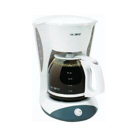 【感謝の!クーポン発行中】大型 コーヒーメーカー 12カップ ミスターコーヒー Mr. Coffee DW12 Switch Coffeemaker ホワイト 輸入 キッチン 家電【母の日】