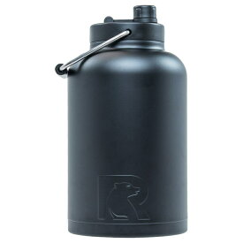 水差し ジャグ 大型 人気 RTIC 1ガロン ビッグサイズ ボトル ステンレススチール ブラック 二重壁 真空断熱加工 24時間氷をキープ 持ち運び マグカップ Rtic Stainless Steel Bottle (3.8L) おうち時間 ステイホーム