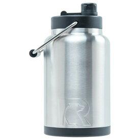 水差し ジャグ 大型 人気 RTIC 0.5ガロン ビッグサイズ ボトル ステンレススチール 二重壁 真空断熱加工 24時間氷をキープ 持ち運び マグカップ Rtic Stainless Steel Bottle (1.9L) おうち時間 ステイホーム