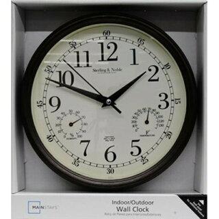 素朴なアンティーク風時計