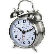 逆輸入品シャープSharpSPC800クオーツアナログツインベルアラームクロックレトロな楽しい目覚まし時計