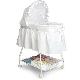 本日は全商品 15%オフクーポン Delta Children 乳幼児用 ベビーベッド バシネット ホワイト 出産祝い Sweet Beginnings Bassinet おうち時間 ステイホーム【父の日】