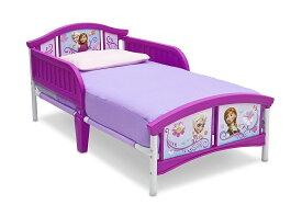 USA直輸入 Disney (ディズニー) アナと雪の女王 Delta Children's 組み立て式 子供用ベッド