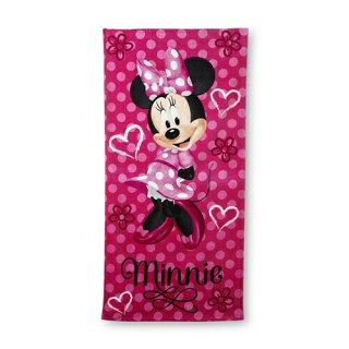 ディズニー(Disney)USA商品女の子のミニーマウスビーチタオルバスタオル[DisneyGirl'sBeachTowel-MinnieMouse]