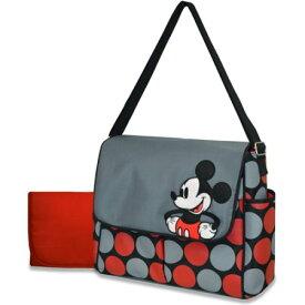 【驚きの5%クーポン+5%還元】マザーズバッグ ママさんバッグ Disney ディズニー ミッキーマウス メッセンジャー マザーズバッグとチェンジングパッド セット
