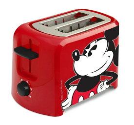 【10%オフクーポン発行中】ディズニー トースター ポップアップトースター ミッキーマウス Disney DCM-21 Mickey Mouse 2 Slice Toaster Red/Blac