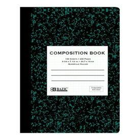 5%オフクーポン発行中 輸入ノート デザインにも使える Bazic クアッドルール 方眼 格子柄 コンポジションブック 輸入文具 海外 ノート おしゃれ