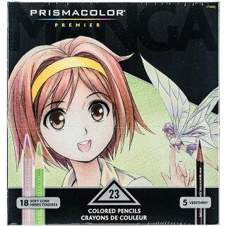 プリズマカラー23色セット高品質の色鉛筆