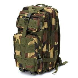 5%オフクーポン発行中 CAMO 防水 20L バックパック アサルト ショルダーバッグ アウトドア キャンプ ハイキング 旅行 Assault Shoulder Bag Military Pack [Forest Camouflage]
