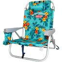 トミーバハマ バックパック ビーチチェアー 海に山に背負って移動 海に山に背負って移動 バックパック 椅子 チェアー Turquoise