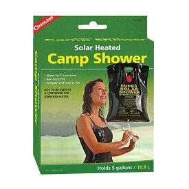5%オフクーポン発行中 携帯シャワー 18.5L コフラン ソーラー キャンプ シャワー 海水浴 Coghlan's Solar Heated Camp Shower 5-Gallon Black おうち時間 ステイホーム
