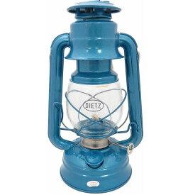 5%オフクーポン発行中 Dietz デイツ 中型 #76 オリジナル オイルランタン ブルー 10インチ ハリケーンオイルランタン Original Oil Burning Lantern (Blue)