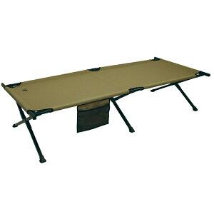 【拡大フライデイセール!クーポン発行中】HQISSUE ミリタリー風 折りたたみ式 簡易ベッド インスタントコット キャンプ用ベッド 耐荷重102kg HQ ISSUE Military Style Camping Cot おうち時間 ステイホ