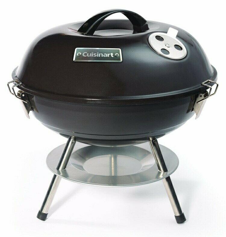 クイジナート ポータブル チャコール グリル Cuisinart CCG-190 Portable Charcoal Grill 14-Inch Black バーベキュー