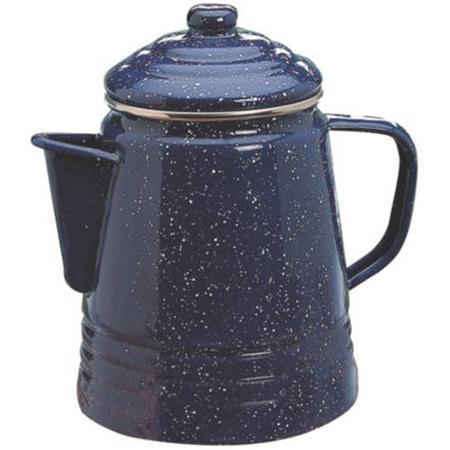 コールマン エナメル コーヒー 9カップ パーコレーター コーヒー沸かし コールマン Coleman 9-Cup Enamelware Coffee Percolator