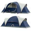 コールマン テント エリート モンタナ 8人用ドームテント LED照明付き Coleman Elite Montana 8-Person Dome Tent with LED Light