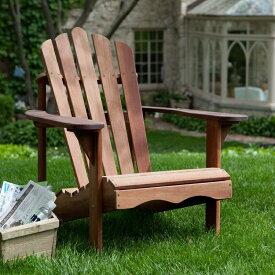 【チャンス!あなたの5%OFFクーポン】 ガーデンチェアー デッキチェアー アウトドア デラックス 赤いショアーア(赤いラワン) Deluxe Shorea Wood Adirondack Chair おうち時間 ステイホーム