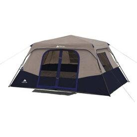 ●進呈!5%オフクーポン●輸入テント キャンプ アウトドア 輸入 テント ファミリー オザクトレイル 8人用 インスタント キャビン 大型 Ozark Trail Tent ブルー おしゃれ 災害 快適