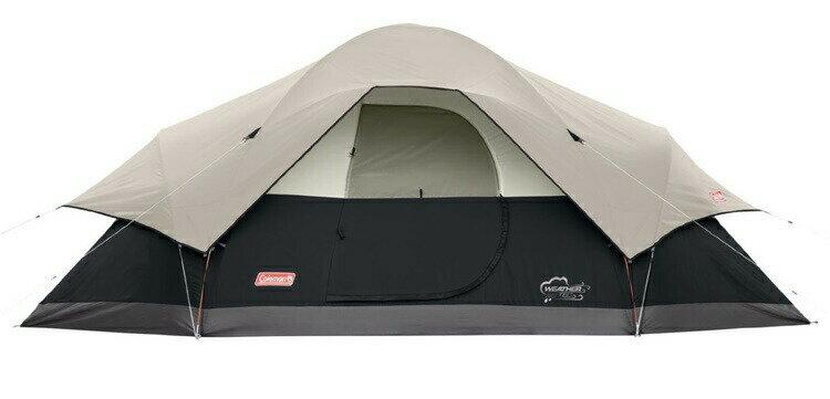 エアーベッド プレゼント中!大型テント コールマン テント レッドキャニオン 8人用 ドームテント ブラック 大型テント Coleman Red Canyon 8-Person Modified Dome Tent Black