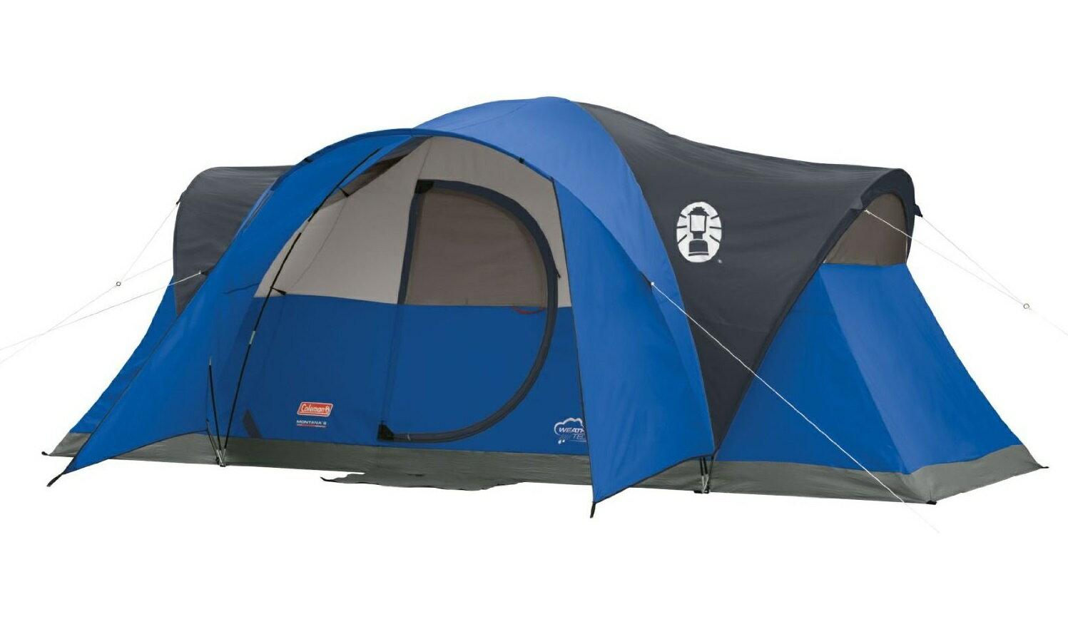 エアーベッド プレゼント中!コールマン テント モンタナ 8人用 ドームテント ブルー 大型テント Coleman Montana 8-Person Tent Blue