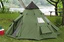 輸入テント ガイドギアー ティーピーテント テント 円錐形テント ワンポールテント Guide Gear 3mx3m Teepee Tent