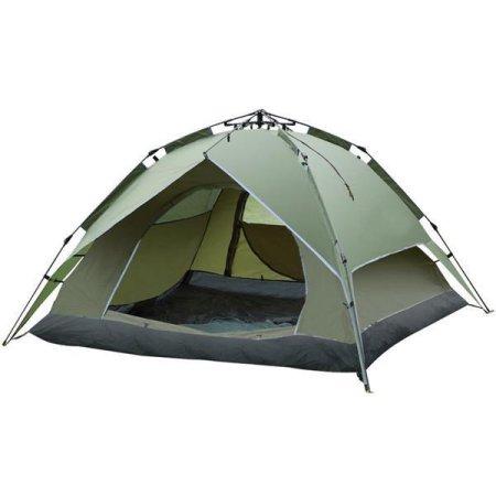 輸入テント 輸入 インスタント キャンプ ドーム テント Yaheetech 3,4人用 防水二重層 Yaheetech 3-4 Person Outdoor Automatic Waterproof Double Layer Instant Camping Tent