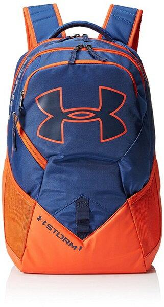 アンダーアーマー ビッグロゴ リュックサック バックパック Under Armour Storm Big Logo IV Backpack Heron/Dark Orange