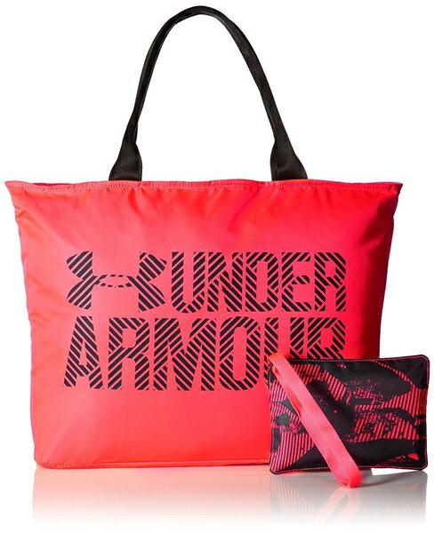 アンダーアーマー トートバック レディース Under Armour Womens Big Wordmark Tote 2.0 Marathon Red/Black
