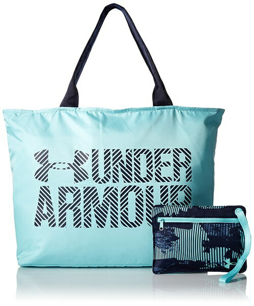 アンダーアーマー トートバック レディース Under Armour Womens Big Wordmark Tote 2.0 Blue Infinity/Midnight Navy
