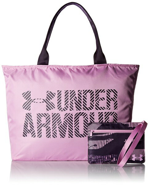 アンダーアーマー トートバック レディース Under Armour Womens Big Wordmark Tote 2.0 Icelandic Rose/Premier Purple