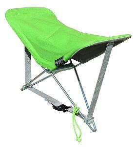 Y-ply イプリ 多機能 ポータブル アウトドア 椅子 ビーチで快適使用こ ヘッドレスト 枕 足置き 小さな折りたたみ式椅子 グリーン YOR-15V