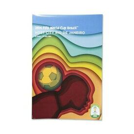 2014 FIFA ワールドカップ ブラジル オフィシャルライセンス ポスター ホストシティ 開催都市ポスター リオデジャネイロ 【正規オフィシャルグッズ】