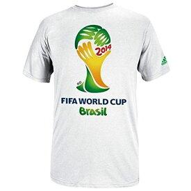 出血!5の付く日クーポン発行中 アディダス adidas 2014年 FIFA ワールドカップブラジル Tシャツ ホワイト 2014 FIFA World Cup Brasil T-Shirt - White Mサイズ