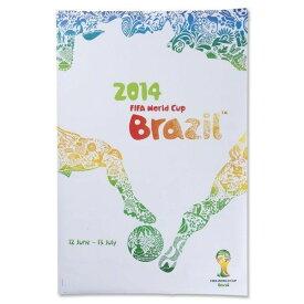 2014 FIFA ワールドカップブラジル オフィシャルライセンス ポスター インテリア (英語) 【正規オフィシャルグッズ】