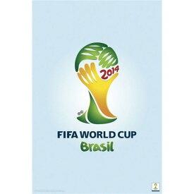 2014 FIFA ワールドカップブラジル オフィシャルライセンス エンブレム 優勝カップポスター FIFA World Cup 2014 Emblem Poster【正規オフィシャルグッズ】